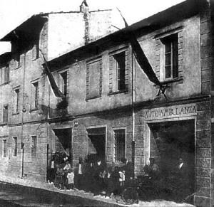 La sede storica della Misericordia di Viareggio